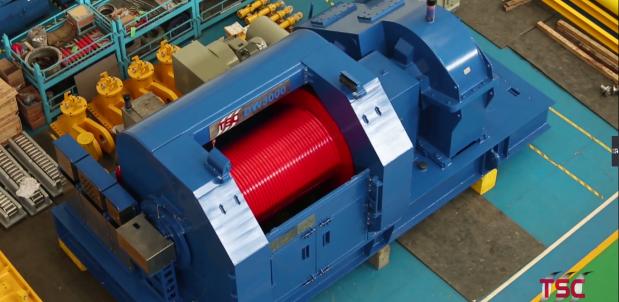机械液压电动集成技术使ag国际厅外挂有吗的布局更加紧凑 制动器及框架焊接准确