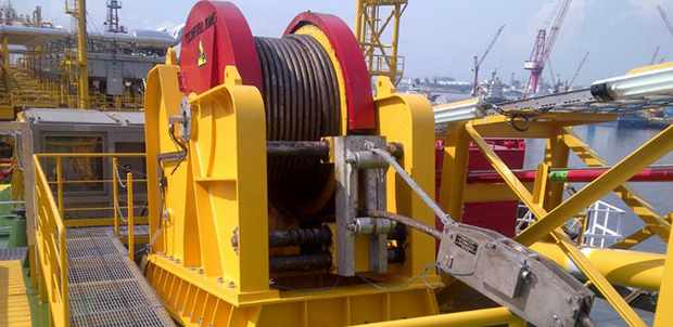 Fpso Installation Riser Winch Packages Lifting
