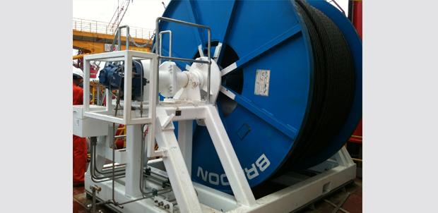 Drill Line Spooler Drill Floor Equipment Equipment For